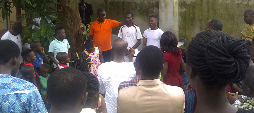 Campus: Two Gets Baptized at the Port Harcourt Campus Ministry's 5 Day Challenge