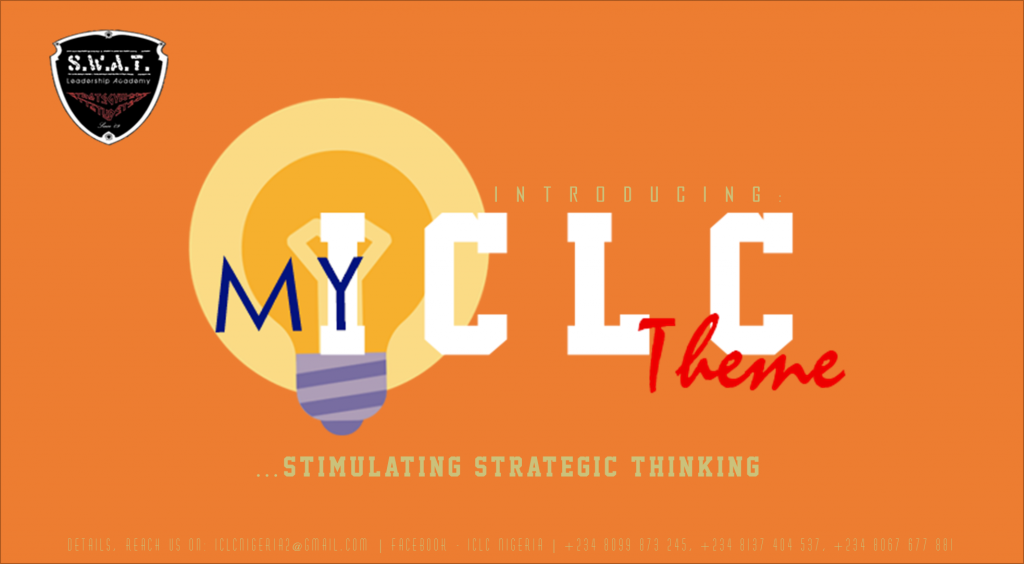 "Campus: The ICOC Lagos Campus Ministry Presents ""My ICLC THEME"""