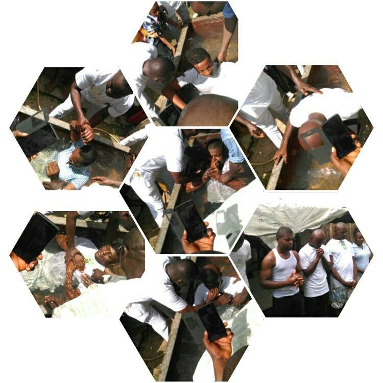 Nine People Baptized in One Day in Lagos!