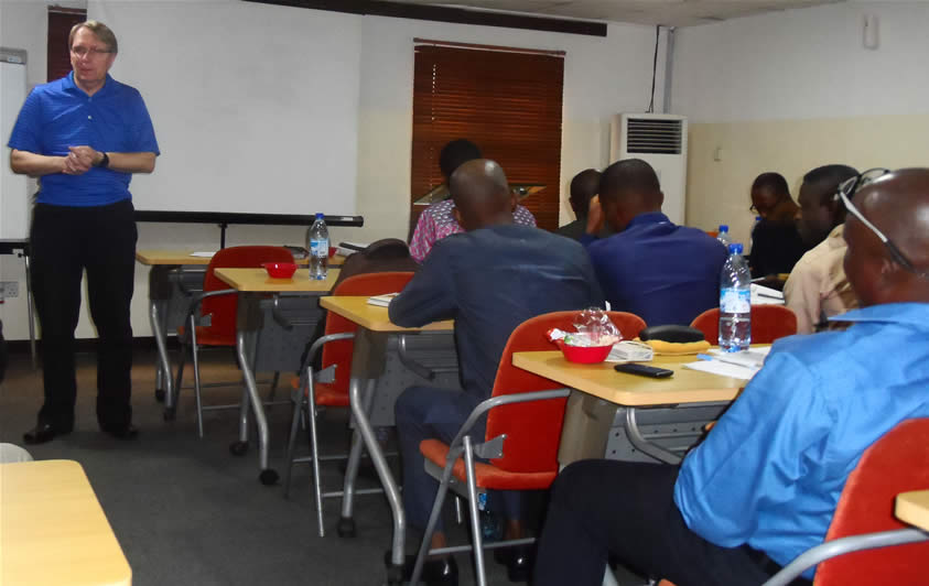 The 2016 ICOC Nigeria Administrator's Training – Building Character and Integrity