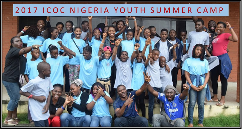 The 2018 ICOC Nigeria Youth Summer Camp