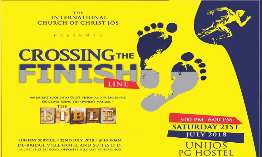 Announcement: Crossing the Finish Line