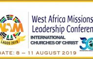 Register for the West Africa Missions Leadership Conference Lagos 2019