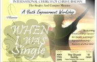 Ibadan: ICOC Ibadan Singles Ministry Youth Empowerment Workshop