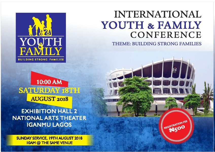 Announcement: The International Youth & Family Conference – Building Strong Families