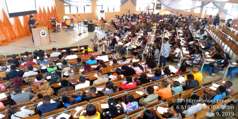 Campus: 2020 Special Orientation Service from the Lagos Campus Ministry