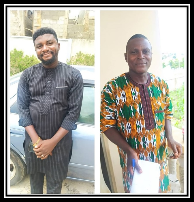 Opeyemi Richard Oluwayemiwo and Ojo Lanre Oluwayemiwo are two brothers who left the faith about 18 years ago but got restored back to the brotherhood shortly after today's service.